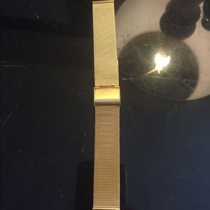 Accessories - New universal gold 18mm mesh watch band  Michele